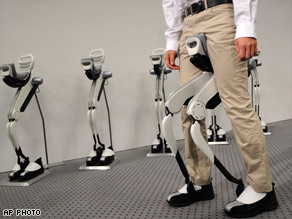 Honda Robotic Walker